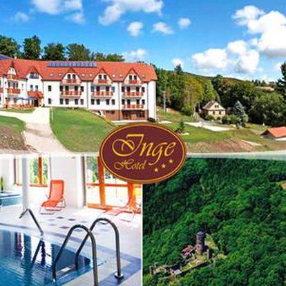 Hotel Inge*** u hradu Hasištejn pro dva na 2 až 6 dní