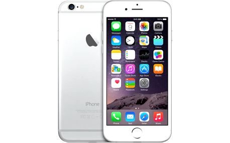 Apple iPhone 6, 16 GB, stříbrný, EU