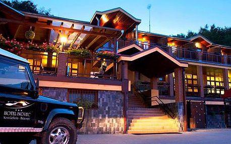 Léto v překrásné horské přírodě v Hotelu Inovec *** na 4 až 8 dní