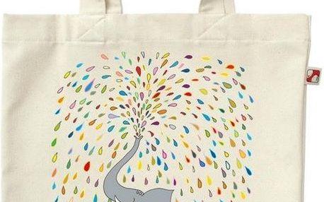 Plátěná taška Sloní život