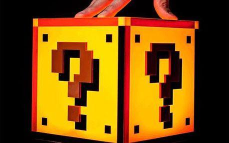 Noční lampička se zvukem Super Mario