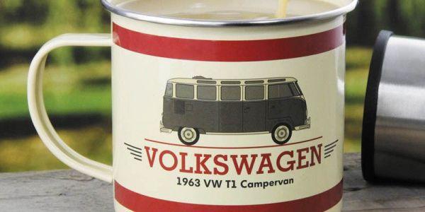 Hrnek plecháček Volkswagen