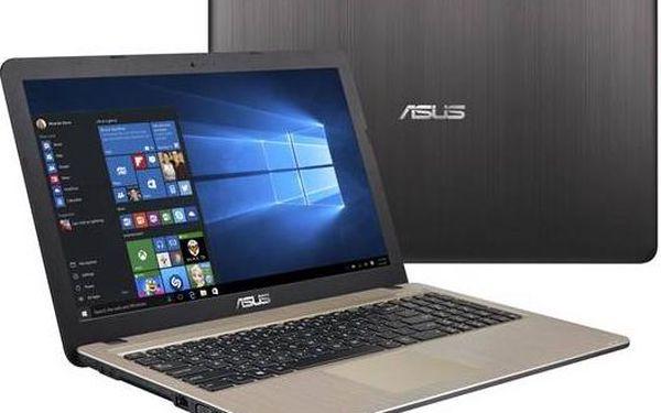 """Asus F540SA-DM043T (F540SA-DM043T) černý + dárek Monitorovací software Pinya Guard - licence na 6 měsíců (zdarma)+ dárek Brašna na notebook ATTACK Easy 15,6 """" - Antracite (zdarma) + Software za zvýhodněnou cenu + Doprava zdarma"""