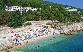 Chorvatsko - Istrie - Rabac na 10 dní, polopenze s dopravou autokarem 500 m od pláže
