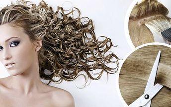 Kadeřnický balíček s profesionální vlasovou kosmetikou Alcina. Barva nebo melír, střih, mytí, maska, foukaná, arganový zábal, masáž hlavy a finální styling pro všechny délky vlasů.
