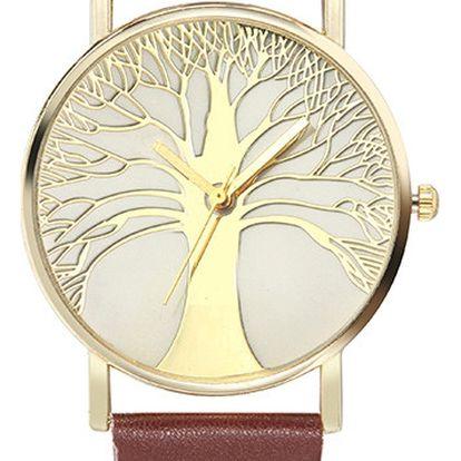 Dámské hodinky se stromem života