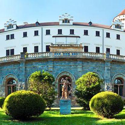 Hotel Konopiště s polopenzí, neomezeným bazénem a dalším sportovním programem