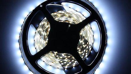 LED pásek 500 cm - bílá barva světla