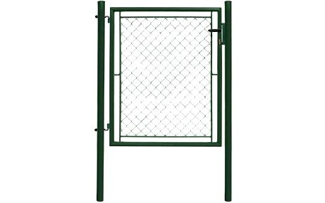 Ideal Jednokřídlá branka poplastovaná Zn+PVC 1085×1200 mm