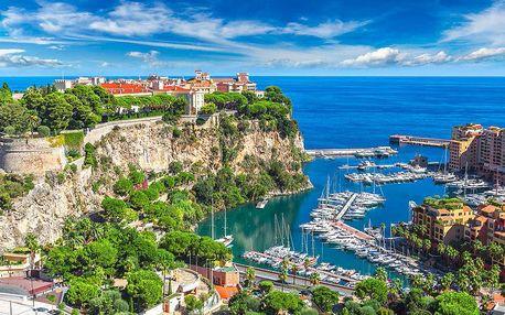 Výlet do Monaka a Monte Carla včetně dopravy
