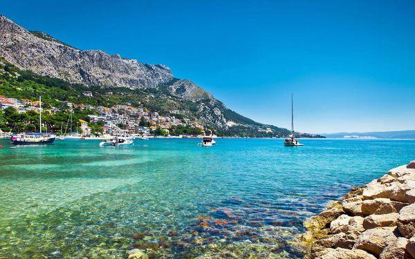 Týdenní slunění a koupání v Chorvatsku