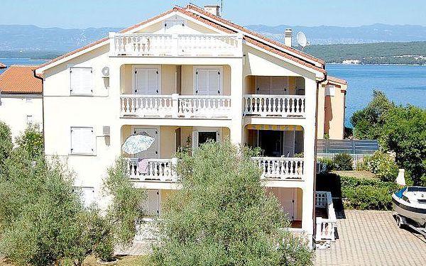 Chorvatsko - Apartmán 400-20 - Ostrov Krk / bez stravy, vlastní doprava, 14 nocí, 4 osoby