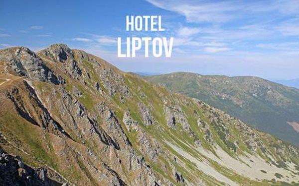 Akční pobyt v hotelu Liptov **, znovu v nabídce pro velký zájem