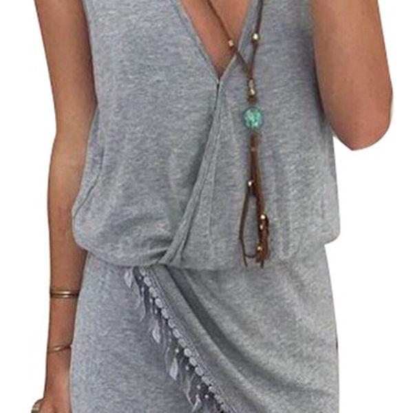 Ležérní dámské šaty - více barev