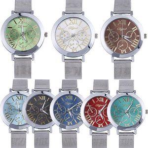 Unisex kovové hodinky v mnoha barvách - poštovné zdarma