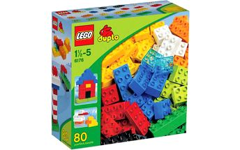 LEGO DUPLO Toddler 6176 Základní kostky – sada Deluxe