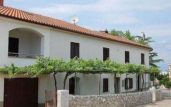Chorvatsko - Apartmány 400-63 - Ostrov Krk / bez stravy, vlastní doprava, 13 nocí, 2 osoby