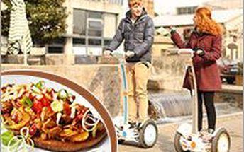 Projížďka na oblíbeném Segway na 30 minut a topinka s pikantní směsí ve Starém Městě u UH za lákavých 249 Kč!