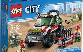 LEGO City 60115 Terénní vozidlo 4 x 4