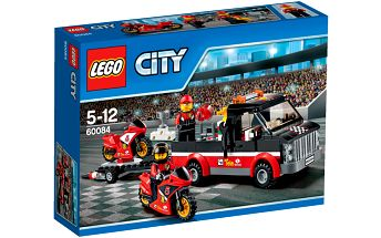LEGO City Great Vehicles 60084 Přepravní kamión na závodní motorky
