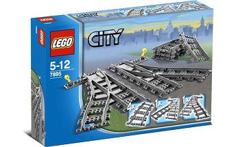 LEGO® City Trains 7895 Výhybky
