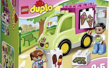 LEGO® DUPLO® Town 10586 Zmrzlinářská dodávka