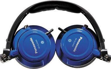 Sluchátka Panasonic RP-DJS400AEA, modré + 200 Kč za registraci