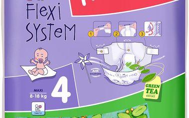 Bella Happy Maxi 8-18 kg, 54 ks - jednorázové pleny