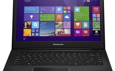 Notebook Lenovo IdeaPad U31-70 80M50060CK, červený + 200 Kč za registraci