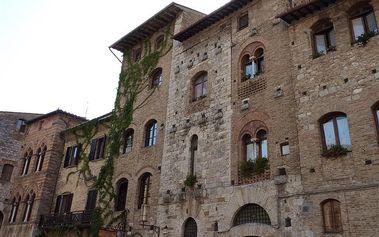 Itálie - Toskánsko na 6 dní, snídaně s dopravou autokarem