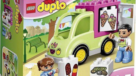 LEGO® DUPLO Town 10586 Zmrzlinářská dodávka