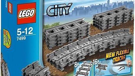 LEGO® City 7499 trains Ohebné koleje