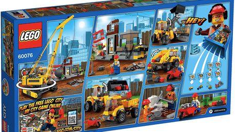 LEGO® City 60076 Demolition Demoliční práce na staveništi