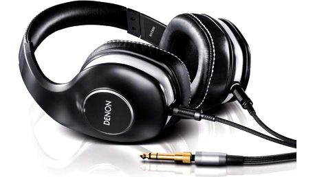 Náhlavní sluchátka Denon AH-D600, černá + 200 Kč za registraci