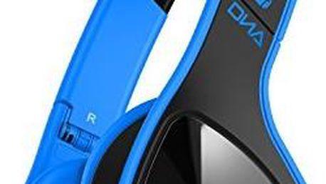 Náhlavní sluchátka Monster Cable MH DNA ON BK BL CA, černá/modrá + 200 Kč za registraci