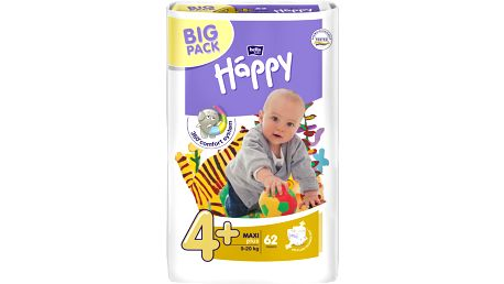 Bella Happy Maxi plus 9-20 kg, 62 ks