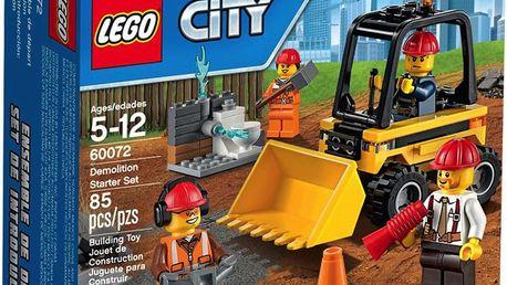 LEGO® City 60072 Demolition Demoliční práce – startovací sada