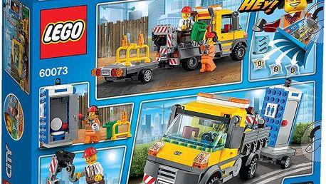 LEGO City 60073 Demolition Servisní truck