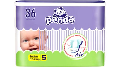 Panda Junior 36 ks - jednorázové pleny