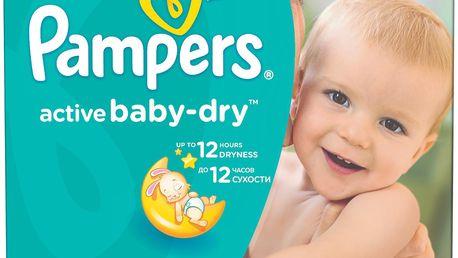 Pampers Active Baby-dry 5 Junior, 111 ks (11-18 kg) - jednorázové pleny