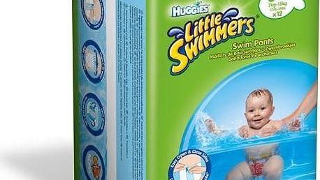 Huggies jednorázové pleny Little Swimmers 3-4/7-15 kg (12 ks)