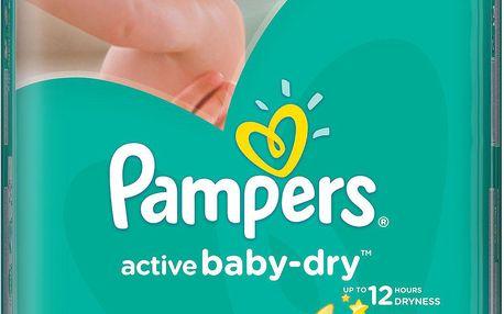 Pampers Active Baby 4 Maxi 7-14kg, 76 ks GIANTPACK - jednorázové pleny