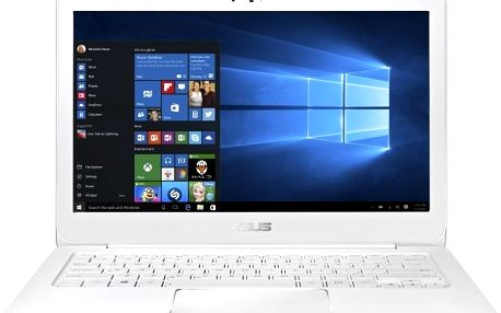 Notebook Asus ZenBook UX305CA-FC023T, bílý + 200 Kč za registraci