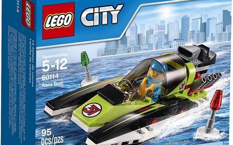 LEGO® City 60114 Závodní člun