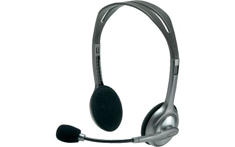 Náhlavní sluchátka Logitech H110, Stereo + 200 Kč za registraci