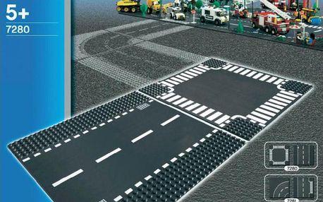 LEGO® City 7280 Supplementary Rovná silnice a křižovatka