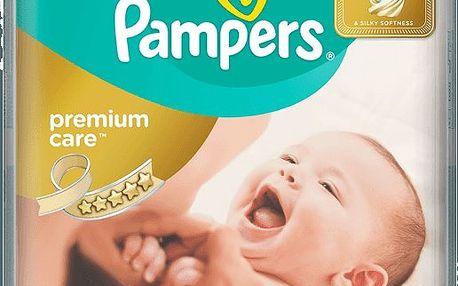 Pampers Premium Care Mini 2, 80 ks (3-6 kg) - jednorázové pleny