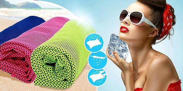 Chladící ručník: dokonalé osvěžení na horké dny, snížení teploty až o 25 stupňů, tři barvy