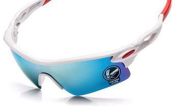 UV 400 sportovní sluneční brýle - 5 barev