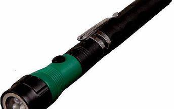 Teleskopická ruční baterka - 2 barvy